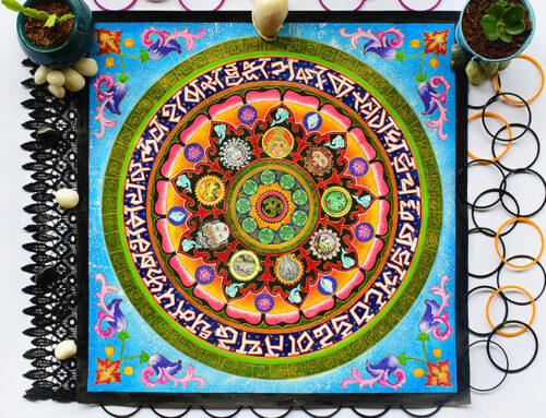 How is Mandala Art different from Zentangle Art?